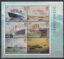 Großbritannien  2004 postfrisch Block MiNr. 19  Passagierschiffe