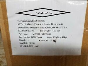 Casablanca Fan Motor, XLP- 2000