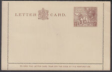1925 British Empire Exhibition 1 1/2d brown Letter Card; LCP12
