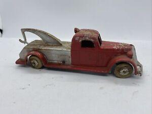 Tootsietoy 1930's Jumbo Wrecker Tow Truck 1027 Original Paint As Found Condition
