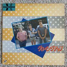 Growing Up JAPAN Laserdisc - VERY RARE