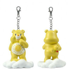 Care Bears Share a Bear Series 2 Yellow Funshine Bear On Cloud Keychain NEW Toy