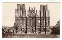 Wells Cathedral - Real Photo Postcard c1910 / S A Radnedge