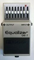 BOSS GE-7 Equalizer Guitar Effects Pedal 1997 #240 Free Shipping