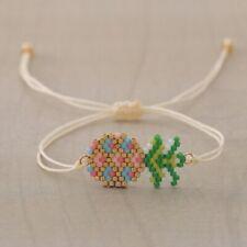 Pineapple MIYUKI Bracelet Seed Bead Japanese Jewelry Hawaiian Trees