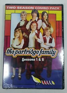 The Partridge Family: Seasons 1 & 2 (DVD, 2014, 4-Disc Set)