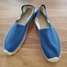Soludos | Blue Canvas Rope Classic Espadrilles Shoes Womens Size US 10 NWOBT
