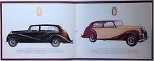 ✇ Original ROLLS-ROYCE SILVER WRAITH Prospekt 1950er Jahre brochure