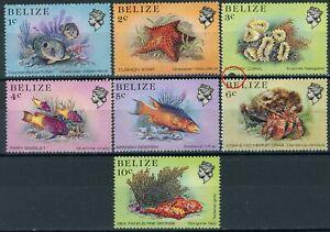 sa3604 Belize - Sc#699//705 MNH - Read Description
