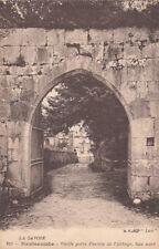 HAUTECOMBE abbaye 610 vieille porte d'entrée de l'abbaye face nord