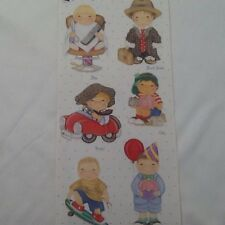 City Boys Dimple Street Gang SCRAPBOOKING Stickers by Tie Me To The Moon A65