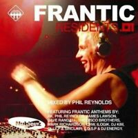 PHIL REYNOLDS frantic residents volume one (CD, mixed, 2002) hard house, trance,