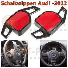 ★ AUDI DSG Alu Schaltwippen Schwarz Verlängerung Schaltung Wheel Paddle Shift ★