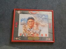 Vintage Baseball TY COBB Detroit Tigers Seagram's 7 Bar Mirror Man Cave SWEET