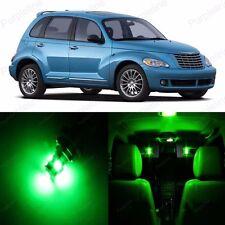 8 x Green LED Interior Light Package For 2001 - 2010 Chrysler PT Cruiser + TOOL