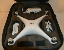DJI PHANTOM 4 ADVANCED DRONE w/ 20 MEGA PIXEL HD CAMERA, CHARGER, BLADES, & CASE