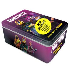 Panini Fortnite Trading Cards Serie 2 US Version - 1x Classic Tin je 6 Booster
