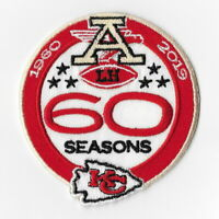 Kansas City Chiefs (g) Iron on Patch Embroidered Football Patches