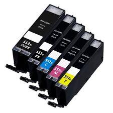 PGI-550 XL CLI-551 XL 5 Pack Cartridges Compatible for Canon Pixma MX925