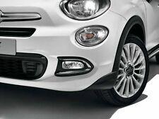 Fiat 500X paire de chrome feu de brouillard avant entoure/garnitures neuf origine 50927460