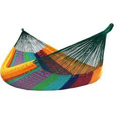 Sunnydaze Mayan Family Hammock XXL Multicolor Handwoven -880-lb. Capacity