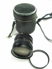 Vintage MILDA 28mm F/2.8 LENS for Canon Breechlock Mount, Caps, Case, Filter