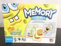 Nickelodeon SpongeBob SquarePants Matching Memory Game / Cards are Complete!!!