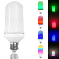 3 Modes LED Flame Effect Simulated E27 Fire Light Bulb Flickering Flame Lamp