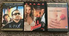 Kevin Spacey's Drama Thrillers L.A. Confidential, American Beauty & K-Pax DVDs