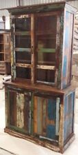 Reclaimed wood display case / cupboard