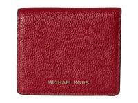 Michael Kors MK Mercer Carryall Card Case Wallet Cherry NWT $88
