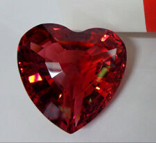 """1998 Limited Edition Swarovski Red Crystal Heart 3-D Love 1.5"""" Paperweight Nwob"""