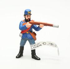 Figurine plastique Wild West Fantassin Nordiste visant