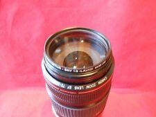 Lente lens zoom Canon EF 75-300 mm f/4-5, 6 is estabilizador stabiliser umf