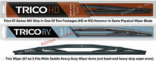 "TRICO 67-221 Wiper Blade (for RV Bus & Commercial Truck) 22"" HD Wide Saddle"