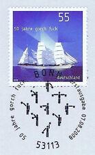 BRD 2008: Gorch Fock Nr. 2686 mit sauberem Bonner Ersttags-Sonderstempel! 1A