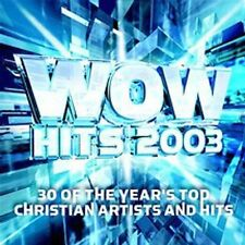 WOW Hits 2003 (CD, Oct-2002, 2 Discs, Sparrow Records)