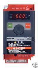 INVERTER VETTORIALE TOSHIBA 0,75 kW 230 Volt MONOFASE USCITA MOTORE TRIFASE 1 HP