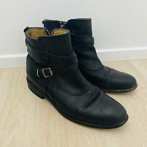 Frye Women's Black Genuine Leather Boots Size 8
