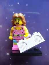 KEEP FIT FITNESS INSTRUCTOR RADIO STEREO LEGO MINIFIGURE SERIES 5 COMPLETE