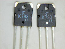 "2SK793 ""Original"" Toshiba MOSFET Transistor  2 pcs"
