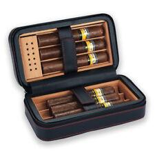 Galiner Cigar Travel Humidor Case Cedar Tray Holder Golf Cigars Humidity Holder