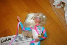 1995 Super Gymnast Barbie-No Box-Sold As Is-Never Played With