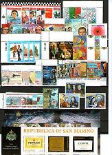 francobolli San Marino 2005 annata completa