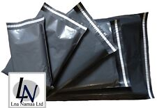 GREY MAILING BAGS STRONG PLASTIC POLYTHENE POST BAGS SELF SEAL POSTAGE QUALITY
