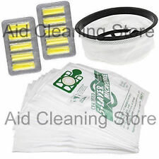 "10 x Hoover Bags Air Fresheners & 12"" Cloth Filter For Numatic Henry XTRA EXTRA"