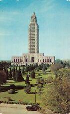 Baton Rouge Louisiana New State Capitol Building Vintage Postcard G04