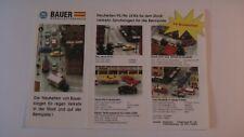 Slot H0 FALLER AMS BAUER Modellautobahnen Prospekt 95/96 f. AURORA TYCO TOMY NEU