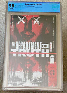 THE DEPARTMENT OF TRUTH #1 CBCS 9.8 SECRET VARIANT 5TH PRINT (2021) NOT CGC NM+