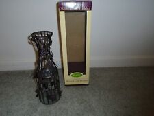 Rustic Multi Use Wine Cork Holder New In Box